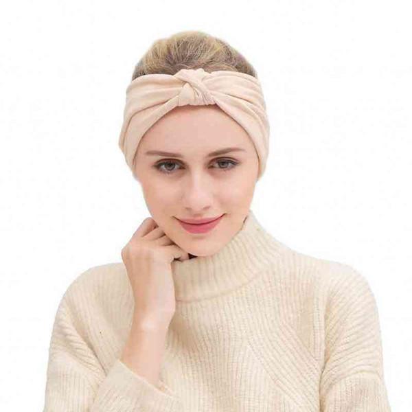 Solid Colors Sports Turban Headband for Women Bows Elastic Sport Hairbands Yoga Headbands Headwear Headwrap Girls Hair Accessories