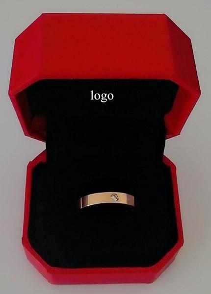 la firma de oro rosa con caja