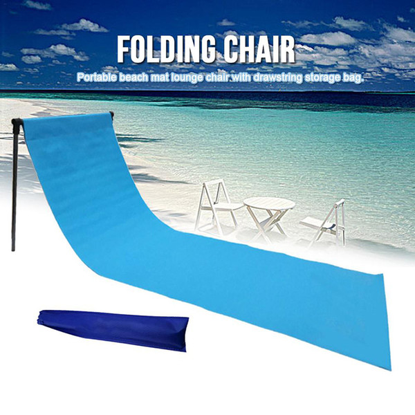 Beach Vacation Comfortable Ultralight Folding Lounge Chair Outdoor Camping Tent Waterproof Deck Chair Adjustable Reclining Backrest