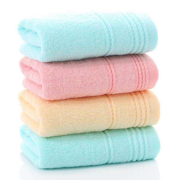 32 X 70 cm Küvet Showel Havlu Kalın Yüz Havlu Hızlı Kuru Yüksek Emici Yüz Havlusu Kalın Pamuk Katı Banyo Havlu MJ07 emdirin