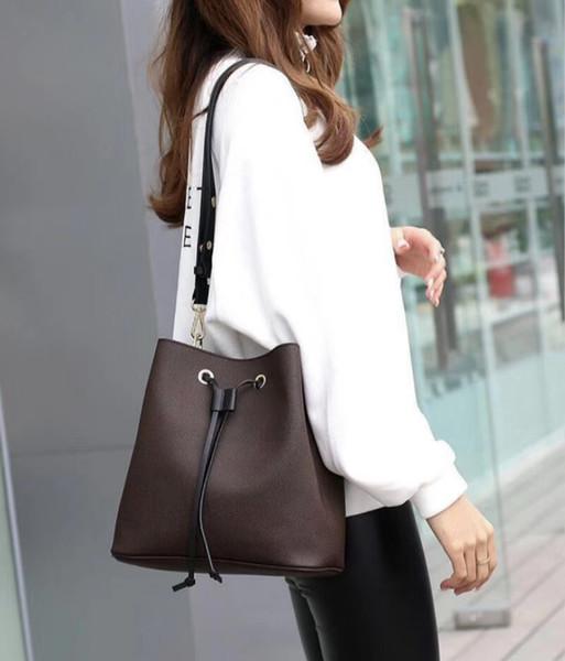 2019 Damenmode-Wannen-Beutel-Qualitäts-echte Leder-Umhängetasche klassische Entwurf Umhängetaschen Dame Handtaschen mehr Farben