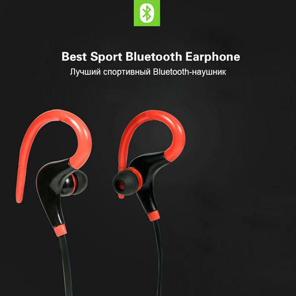 MKUYT BT-1 Sports Bluetooth Headset Ear Hook Wireless Headphone Earphone Big Horn horn 4.1 stereo explosion sports headphones