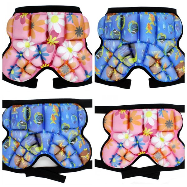 Children Hockey Pants Hip Protective Shorts Buttock Protection Trousers Anti Fall Sports Skating Skiing Snowboarding Bottom Padded Boys And