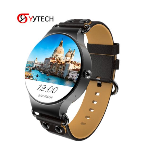 SYYTECH New KW98 3G Smartwatch Phone MTK6580 Quad Core WIFI GPS Heart Rate Pedometer Smart Bracelet