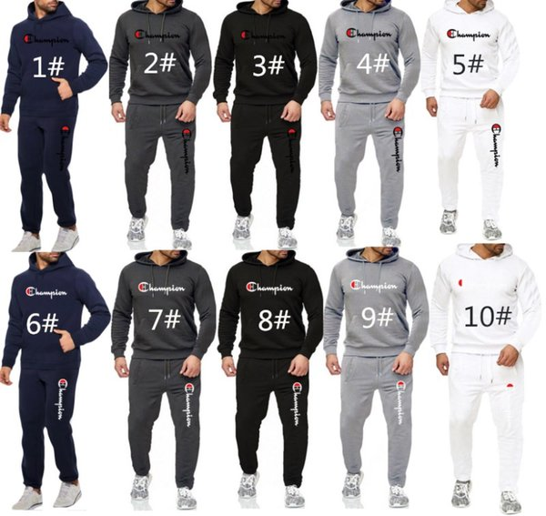 unisex Tracksuit 2 Piece Set Outfits long sleeves sportswear pullover Jogging Sports suits hoodie pants Suits clubwear sweatshirt hot 3095
