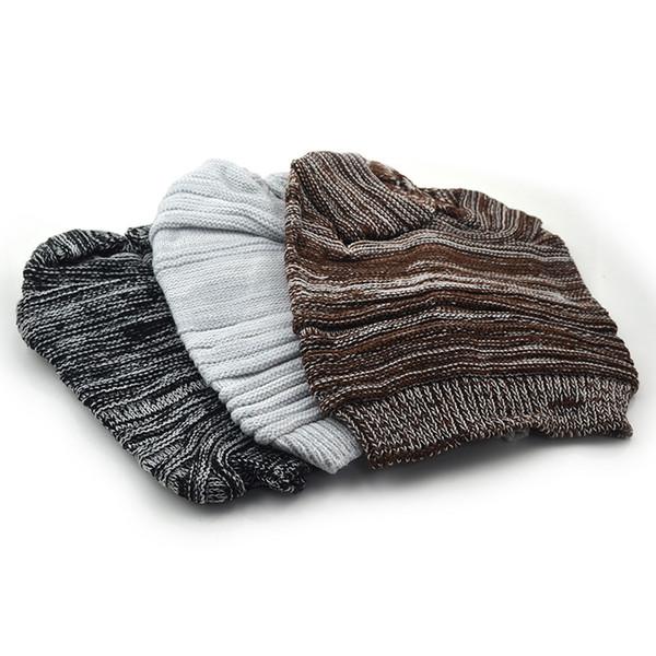 Meilleure vente double couleur correspondant chapeau automne et hiver chapeau de laine hip hop chapeau de laine pour hommes