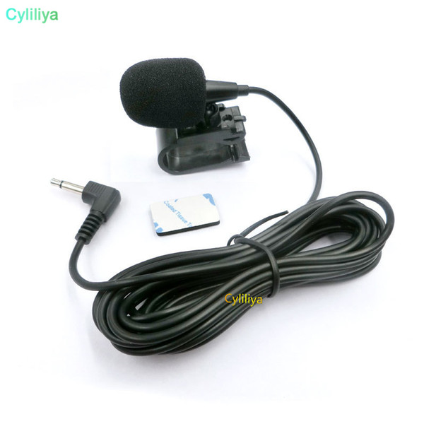 Car Audio Microphone 3.5mm Jack Plug Mic Stereo Mini Wired External Microphone for Auto DVD Radio 3m LongProfessionals Car Aud 50pcs