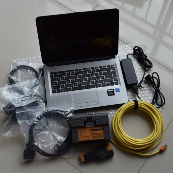 Best Quality Icom A2 Scanner For BMW Icom diagnostic with 2019 ssd + HP N3060 new Laptop 4GB 2 years warranty