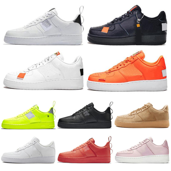 Acheter Nike Air Force 1 AF1 One Forces 1 Dunk 2019 Hommes 1 Utility Classic Noir Blanc Femmes Casual Chaussures Vert Skateboarding High Low Cut