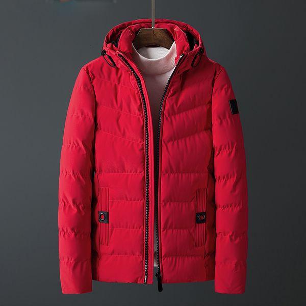 Thick Parka Jacket Men Winter New Taschen Warm Parka Männer warmen Mantel-M-4XL Für männlichen Mantel -20 Grad-Jacke für Homme