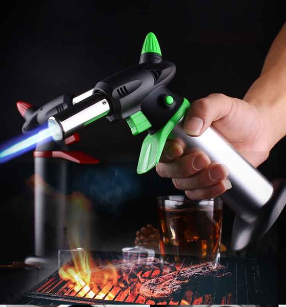 BIG XXL 1300C Butane Scorch torch jet butane Gas lighter Giant Heavy Duty Refillable Micro Culinary Torch BBQ Professional Kitchen Tools
