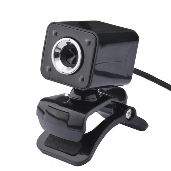 A862 USB Web Camera 720P HD Computer Camera Webcams Built-in Sound-absorbing Microphone 640*480 Dynamic Resolution