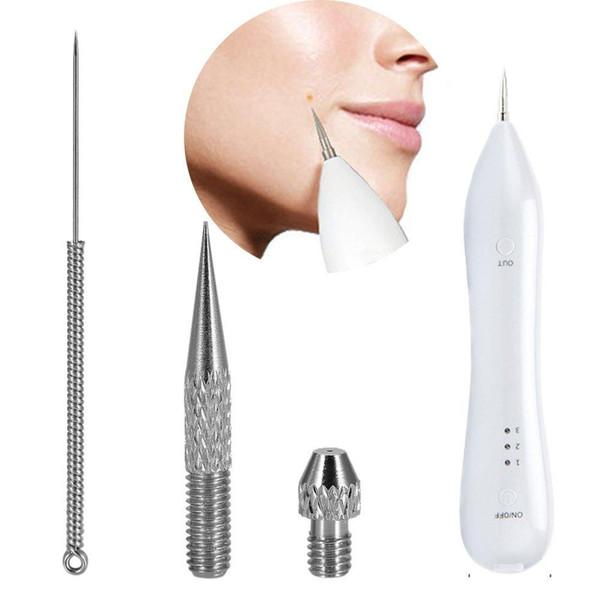 5 Pack Speckle Nevus Remover Maschine Nadeln Tipps Ausrüstung Zubehör für Entfernung Dunkle Sommersprossen Alter Spot Tattoo Pigment Beauty Pen