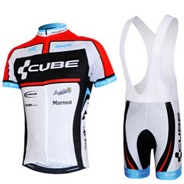 2019 Pro team CUBE Sommer Männer Radtrikot Set Atmungs MTB Fahrrad Radfahren Kleidung Mountainbike Tragen Kleidung Maillot Ropa Ciclismo