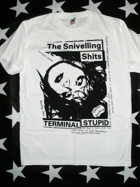 Snivelling Shits punk screen printed rock t-shirt size S - XXXL members hot rods