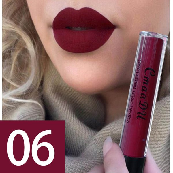 Lips Makeup Waterproof Nude Matte Metallic Tint Cosmetics Lip Gloss Glitter Liquid Lipstick Make Up Long Lasting Lipgloss #
