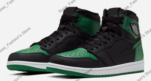 1s black pine green