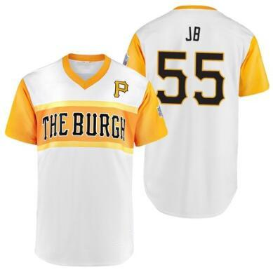 100% authentic 27b9b c80e3 2019 2019 Little League Classic Pittsburgh 55 Josh Bell JB Adam Frazier  Fraz Trevor Williams Project Gregory Polanco El Stitched Pirates Jersey  From ...