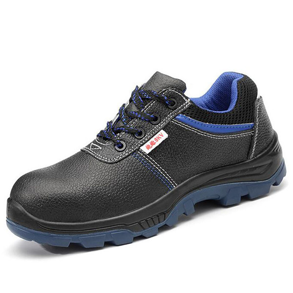 6 kv insulation shoe men big size steel toe covers working safety shoes cow leather building site worker tooling security boots thumbnail