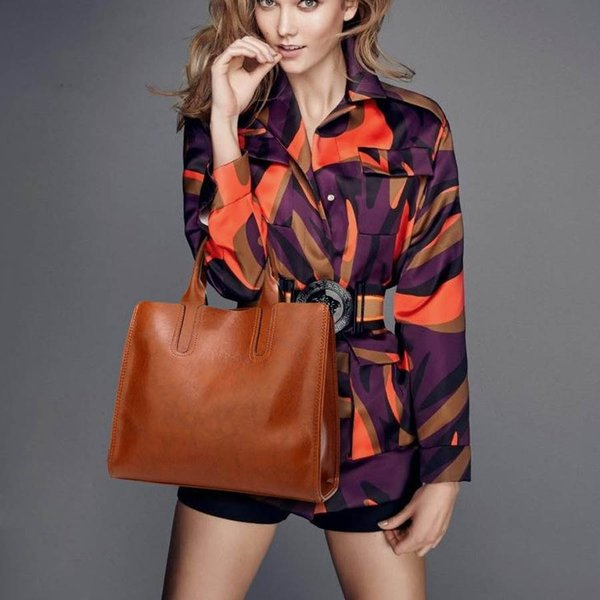 Fashion Bags Oil wax Leather Luxury Handbags Wallets High Quality For Women Bag Designer Totes Messenger Bags Cross Body M Bag