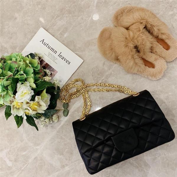 Frauen Luxus Umhängetaschen Damen Marke Umhängetasche Ausgezeichnete Geldbörse auf Kette Softshell-Taschen 25 Cm Breite Kostenpreise Sa1e