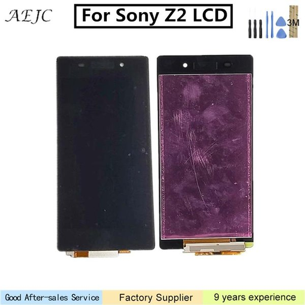 LCD Digitizer Screen Touch Assembly tool For Sony Xperia Z2 D6502 D6503 L50W