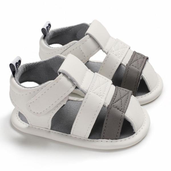 Сандалии для мальчиков Дышащие противоскользящие туфли для малышей Летние пляжные сандалии Малыш с мягкой подошвой на подошве