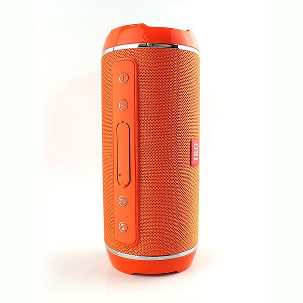TG116 Portable Bluetooth Speaker Waterproof Column IPX5 Outdoor Mini Box Suppport TF Card Bass Stereo Surround MP3 Loudspeaker