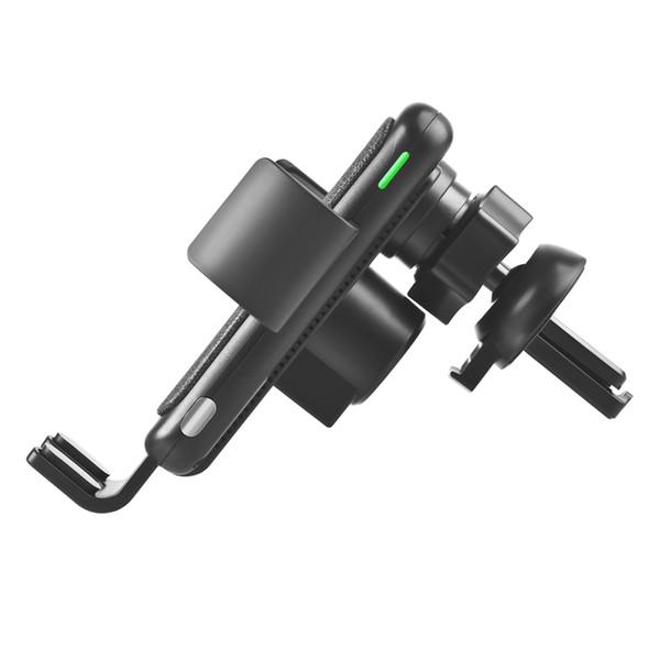 téléphone intelligent chargeur de voiture sans fil chargeur de voiture électrique support de téléphone portable 15W haute vitesse sans fil de charge Flash pour automobile