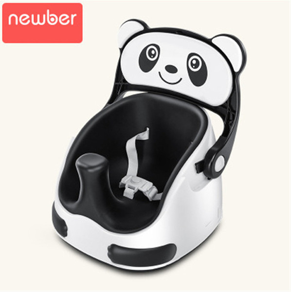 Double Use Baby Dining Chairs Seats Panda Walking Baby Chair Portable Booster Chair For Children Chair Feeding Highchair Free Ship