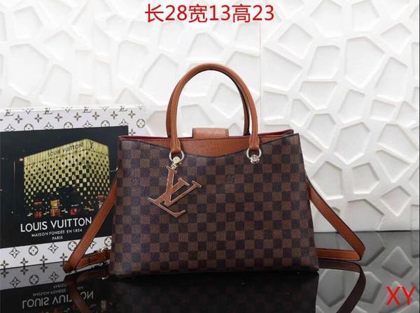 2019 styles Handbag Famous Design Brand Name Fashion Leather Handbags Women Tote Shoulder Bags Lady Leather Handbags Bags purse B010