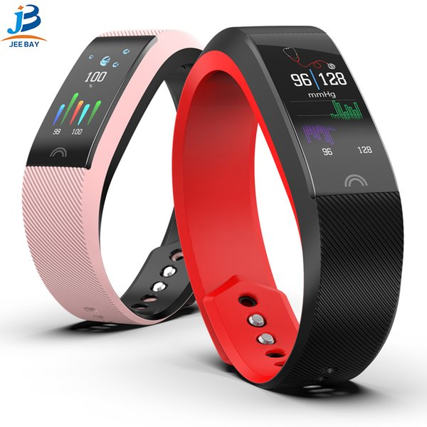 Pulsera inteligente F6 Sports Heart Rate Monitor Impermeable Fitness Tracker Bluetooth Watch Band para Android IOS Wristband