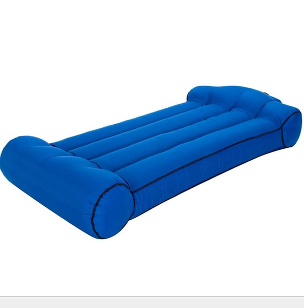 Awesome 2019 Inflatable Air Bed Couch Portable Air Sleeping Bags Lounger Sofa Chair Mattress Lazy Inflate Beanbag Camping Beach Outdoor Hammock From Lilykang Bralicious Painted Fabric Chair Ideas Braliciousco