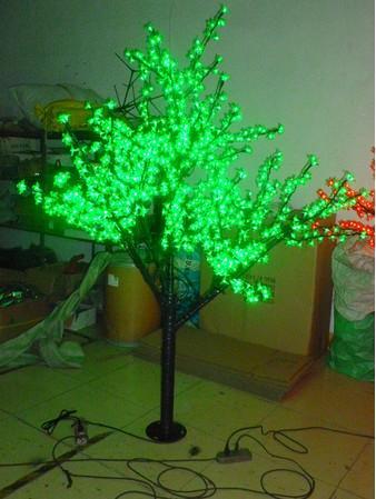Natal festa de ano novo feriado LED Cherry Blossom Tree light 1152 pcs Lâmpadas LED 2m / 6.5ft Altura 110 / 220VAC LLFA Ao Ar Livre À Prova de Chuva