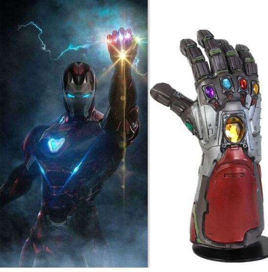 Avengers 4 Fin de match Thanos Iron Man Hulk Infinity Gauntlet Cosplay Gants Accessoires Accessoires Tony Stark Iron Man Gauntlet Cosplay