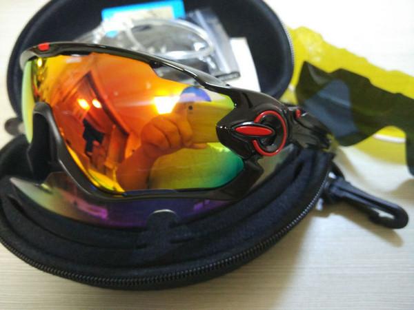 2019 Polarized Flight Jacket Gafas de sol Gafas de ciclismo Bicicleta Pesca Deporte Jawbreaker Gafas de sol Gafas ciclismo Ciclismo Gafas Gafas
