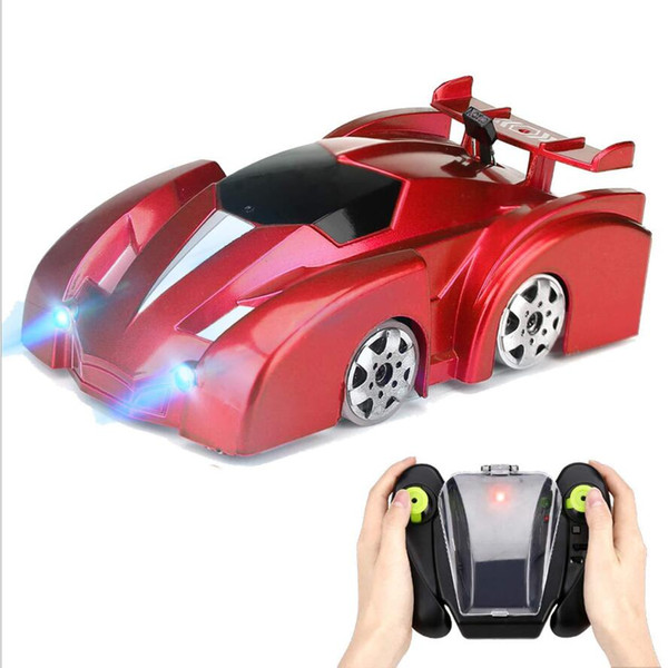 best selling Stunt lights 360-degree high-speed rotating four-channel children remote control toys stunt climbing car children gifts Christmas toys