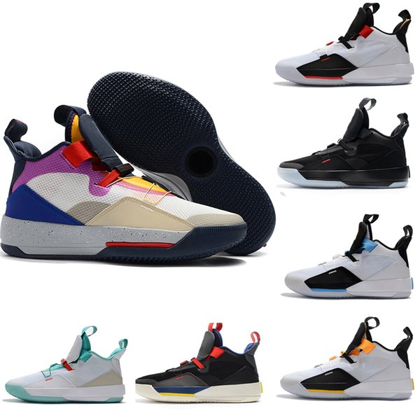 989a25f1350 Designer Basketball Shoes 33 33s Mens Future Flight Visible Utility  Blackout Guo Ailun PE Tech Pack