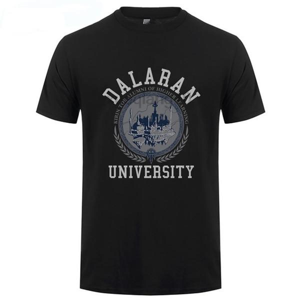 Juego Camiseta de la marca Camiseta de verano Mundo para hombre Universidad de Dalaran Camiseta premium Ropa de moda Tamaño S-3XL