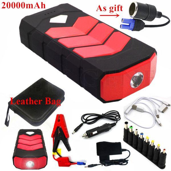 High Capacity Car Jump Starter 20000mAh 12V Portable Starting Device Power Bank Car Charger For Battery Starter