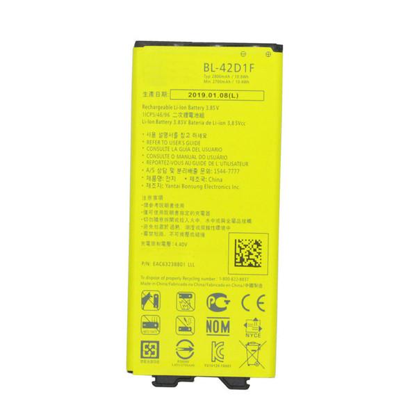 top popular 1x 2800mAh BL-42D1F Replacement Battery For LG G5 VS987 US992 H820 H840 H850 H830 H831 H868 F700S F700K H960 H860N LS992 RS988 2019
