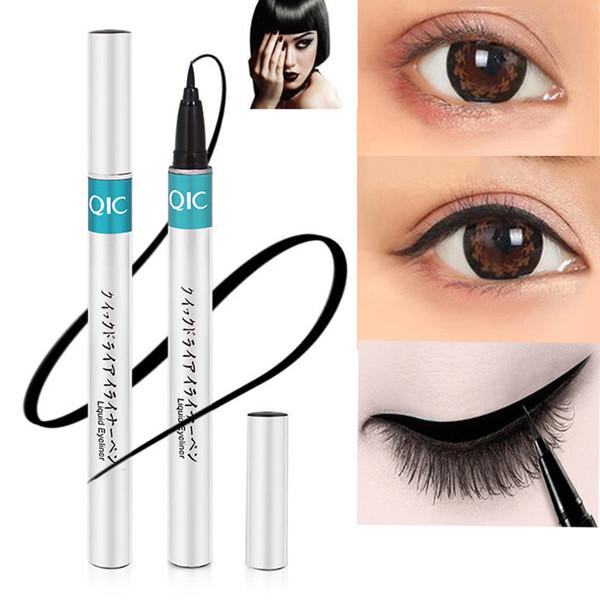 Eyeliner waterproof liquide Crayon Yeux Noir Maquillage rapide yeux secs maquillage professionnel de longue durée lisse Liner fine