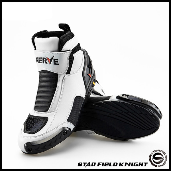 neve bikers motorcycle boots moto racing motocross off-road motorbike shoes black/white/red size 39/40/41/42/43/44/45 nv005