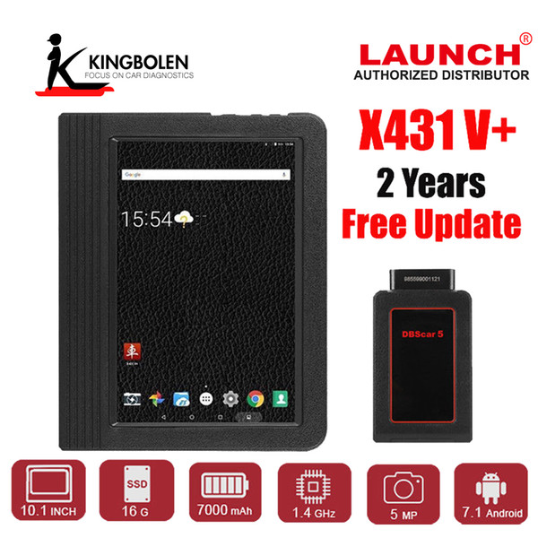 LAUNCH X431 V Plus Professional OBDII OBD2 Wifi e Bluetooth Automotive Full System Diagnostic Tool Multi-Language Scan Tablet