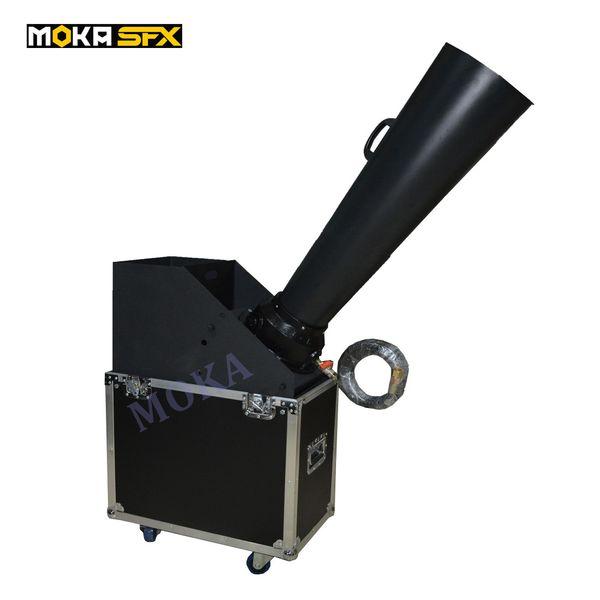 top popular Flight Case Packing CO2 Confetti Cannon Machine Confetti Blaster Hand Control For Party Club Stage Aluminium Cast co2 gas cannon 2021
