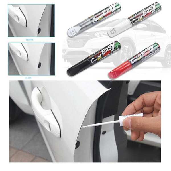 top popular 4 Colors Car Scratch Repair Pen Fix it Pro Maintenance Paint Care Car-styling Scratch Remover Auto Painting Pen Car Care Tools 2021