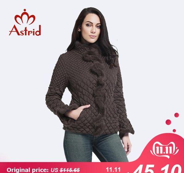 les femmes d'hiver de veste taille plus pour les femmes Manteaux crinière bas parka veste élastique Tops loisirs ukraine chaude de feminina AM-8828 V191029
