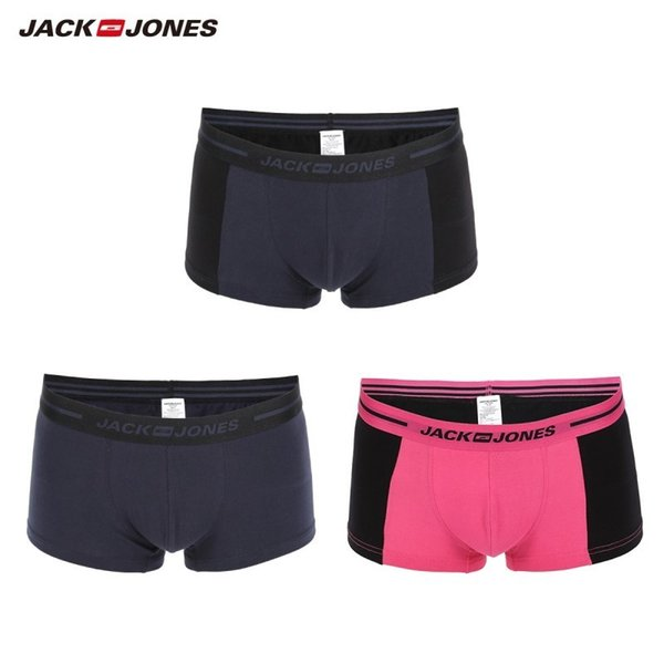 large discount new concept promo codes 2019 Jackjones Men'S Stretch Boxer Shorts Men'S Underwear 3 Pack Plain  Color Homewear Men'S 2019 Brand New Arrival 219192522 T2190601 From  Linjun02, ...