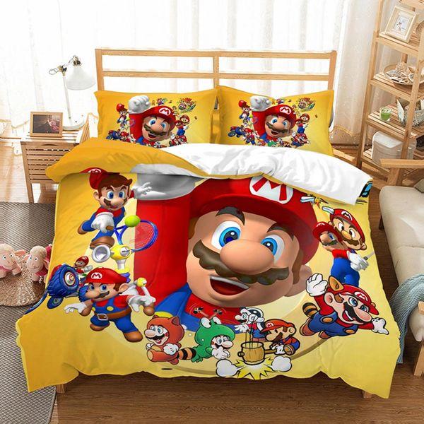 Super Mario russe Roi Reine Imprimer housse de coussin Creative Cusion Taie d/'oreiller