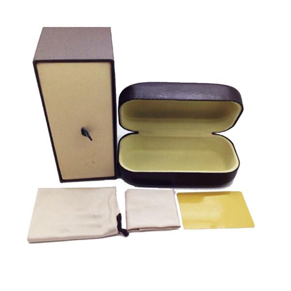 fashioin 스타일의 선글라스 박스 정품 케이스 박스 브랜드 디자이너 고전 안경 케이스 상자을 Freeshipping 선글라스